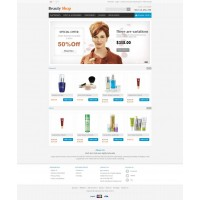 Beauty Store Template 3