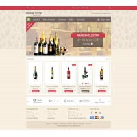 Wine Store Template 2