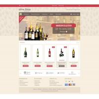 Wine Store Template 2