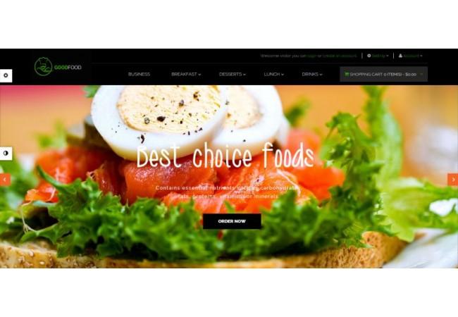 FoodGood Template 4