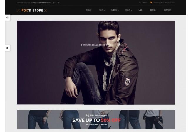 Fox Store Template 1